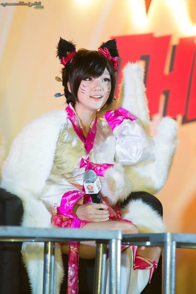 Miyuko khoe cosplay Ahri tại STGCC 2013 - Ảnh 10