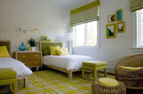 iZdesigner.com - Sử dụng màu xanh lục cho thiết kế nội thất