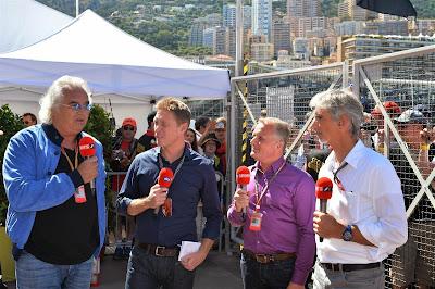 Флавио Бриаторе делится мнением со Sky Sports F1 на Гран-при Монако 2014