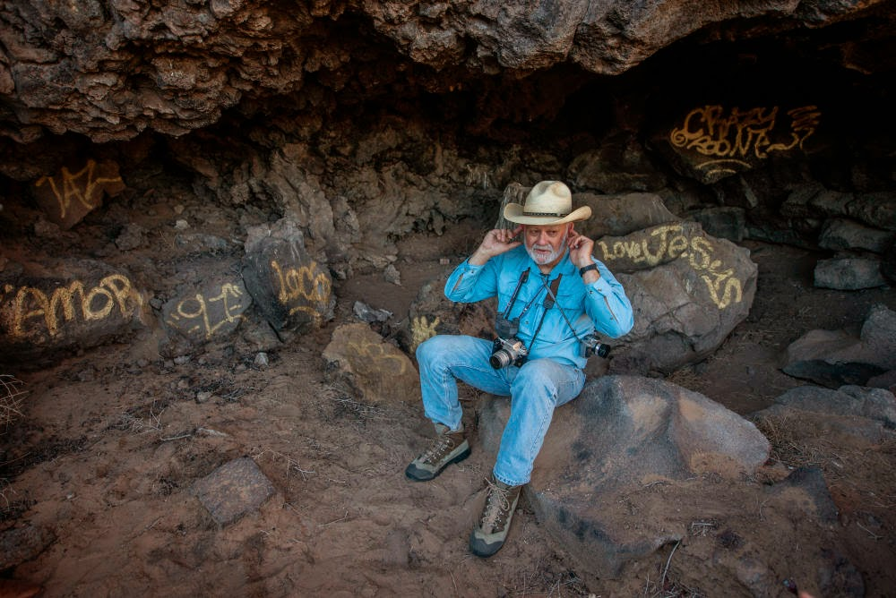 Vandalism found in Petroglyph National Monument