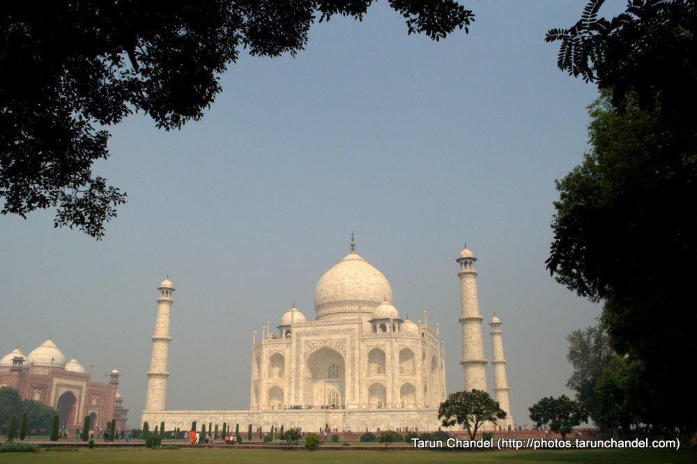 Green Taj Mahal Agra, Tarun Chandel Photoblog
