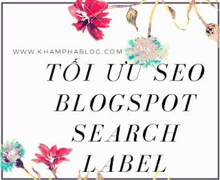 tối ưu trang search label chuẩn seo