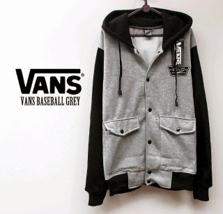 Jaket Vans BASEBALL Grey