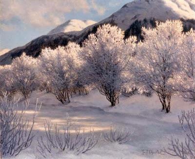 Ivan Fedorovich Choultse - Hiver, Haute Savoie, Suisse