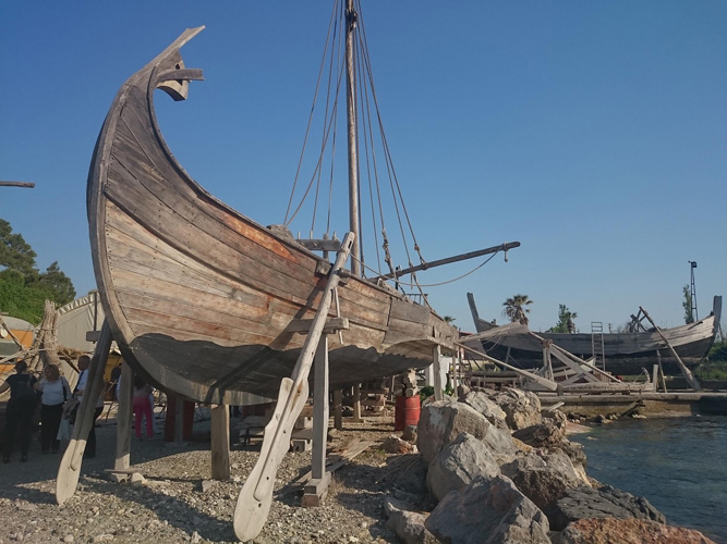 Near East: Ancient harbour to be recreated in western Turkey