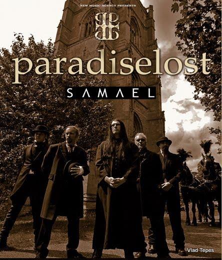 Paradise Lost / Samael / Adagio @ Elysée Montmartre, Paris 19/12/2011