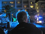 and here's our stage on the ritz-carlton lawn