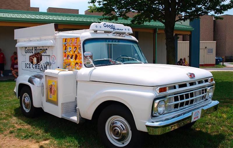 Dark Roasted Blend Cute Vintage Ice Cream Trucks