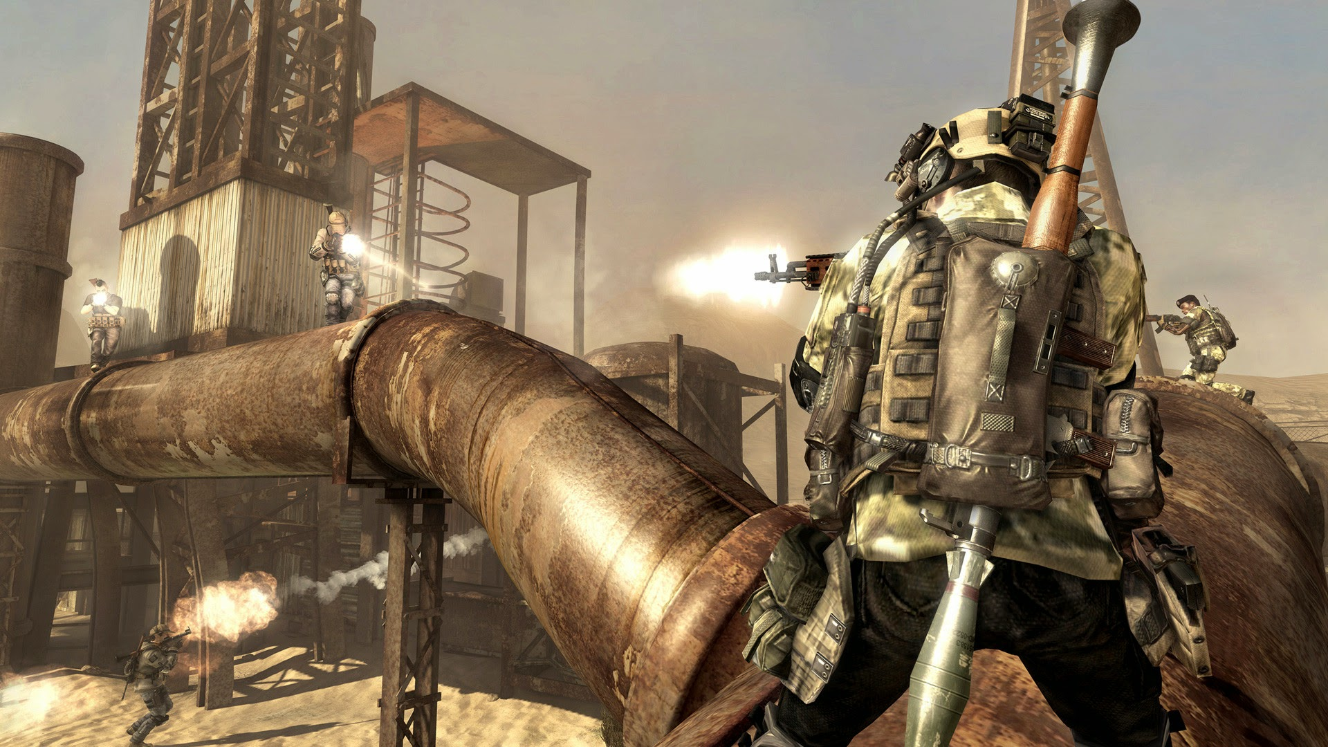 Loạt ảnh tuyệt đẹp của Call of Duty Online