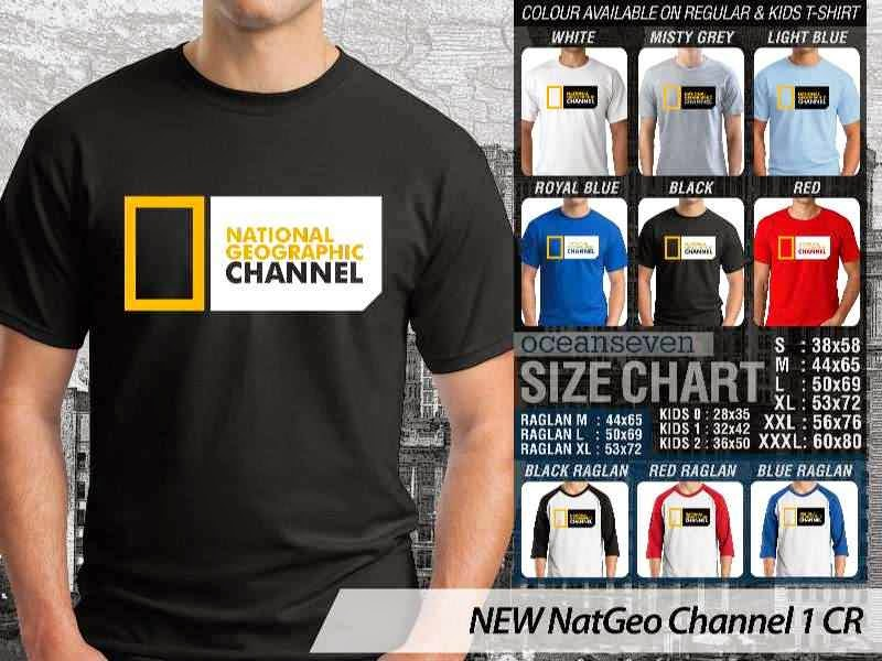 Kaos National Geographic NEW Nat Geo Channel 1 distro ocean seven