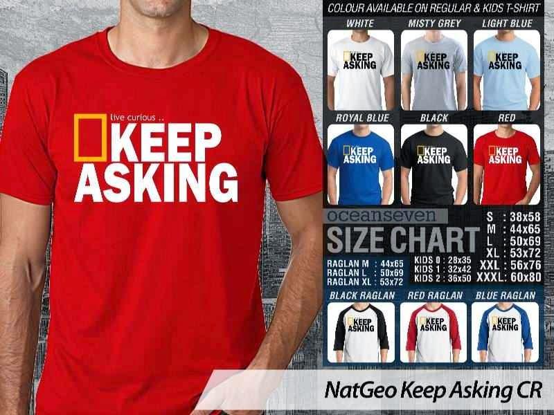 Kaos National Geographic NatGeo Keep Asking distro ocean seven