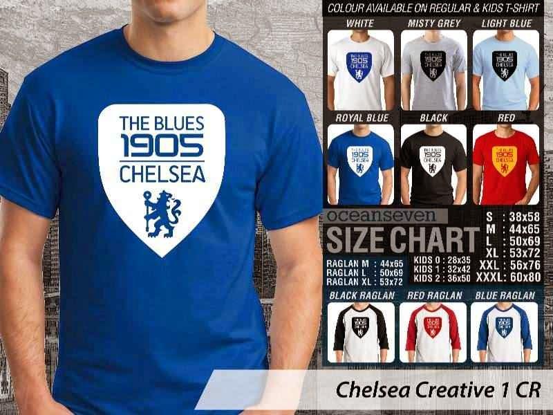 KAOS Chelsea 12 Liga Premier Inggris distro ocean seven