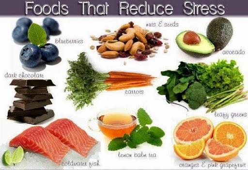 Food reduce Stress