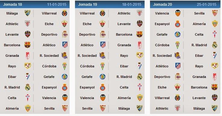 barcelona la liga schedule