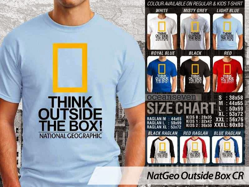 Kaos National Geographic NatGeo Outside Box distro ocean seven