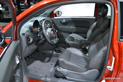 Fiat 500T Cattiva interior