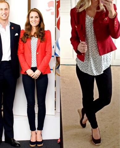 Thrifty Wife Happy Life Celebrity Looks Kate Middleton 39 S Blazer Styles