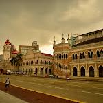 Budynki Sadu przy placu Merdeka