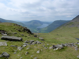 Wastwater from Beck Head.