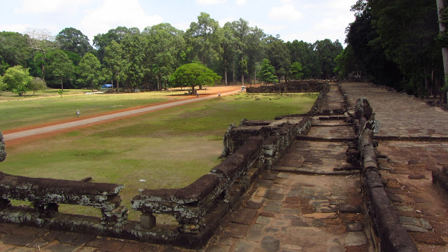 Elephant Terrace was used for large public gatherings.