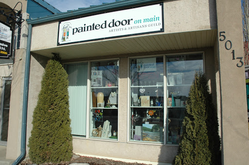 Painted Door On Main Artist and Artisans Gift and Gallery, 5013 50 St, Beaumont, AB T4X 1J9, Canada, Art Gallery, state Alberta