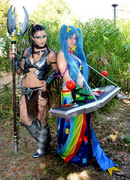 Thợ săn hóa thú Nidalee cực ngầu qua cosplay