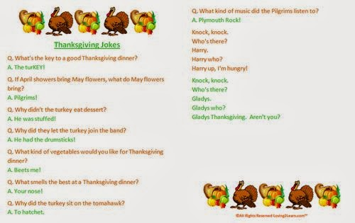 Famous Thanksgiving Jokes For Kids Free Quotes Poems Pictures