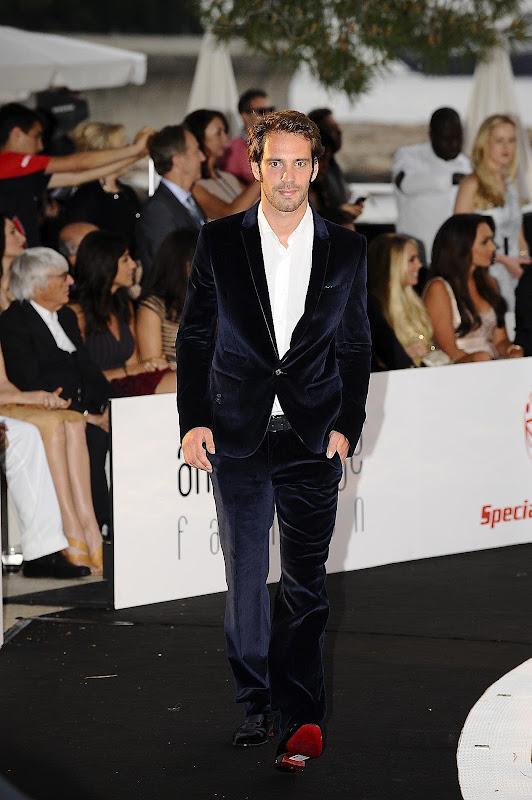 Жан-Эрик Вернь на Amber Fashion Show на Гран-при Монако 2012