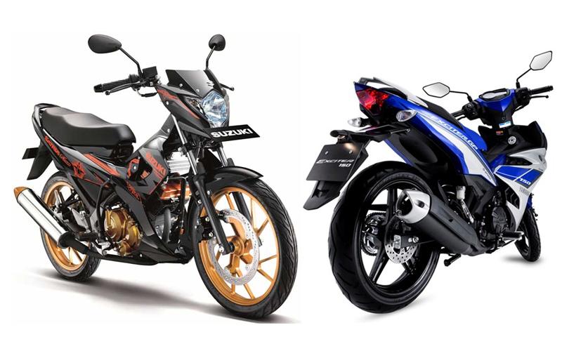 Perbandingan Spesifikasi Suzuki Satria F150 VS Yamaha Exciter 150
