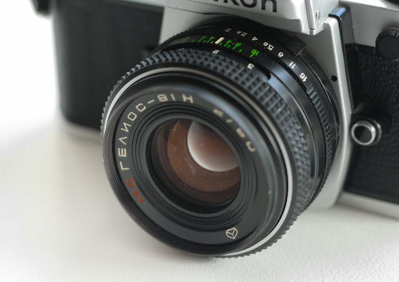 Объектив на Nikon - Гелиос 81Н 50мм f2.  Форумы.  Частные объявления.