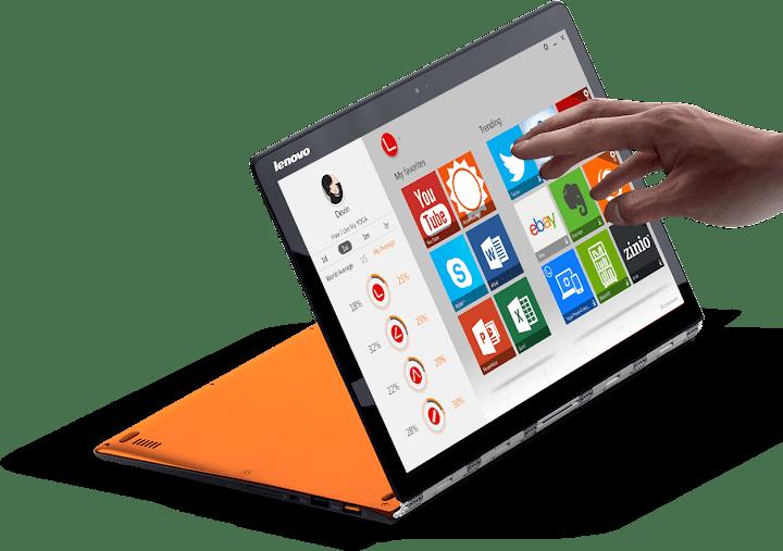 Lenovo Yoga 3 Pro - Spesifikasi Lengkap dan Harga
