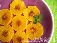 Naranjas con canela