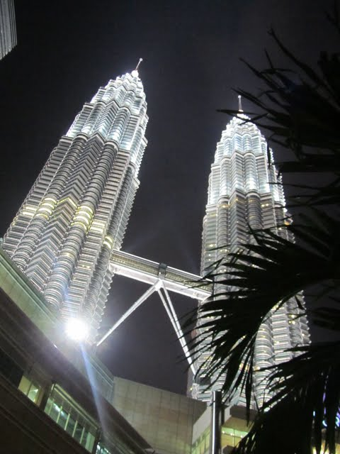 Petronas at night, KL