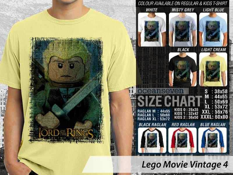 KAOS film lego The Lord of The Ring distro ocean seven