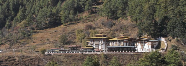 Kuje Lhakhang, one of Bumthang's famous temples