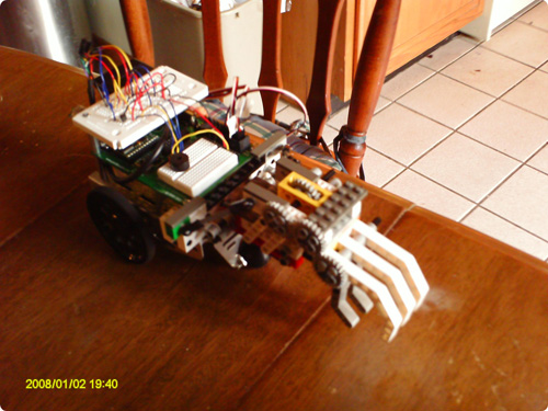 Description: Picture of Demo Robot. Action: Select (click) picture to view it enlarged.