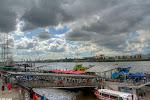 Hamburger Hafen, HDRLandungsbrücken