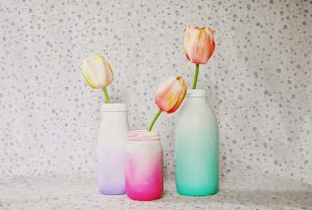 10 DIY Projects For Single Mothers - Milk Bottles