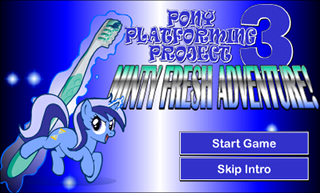 The title screen for the game, which also functions as a link to the game itself