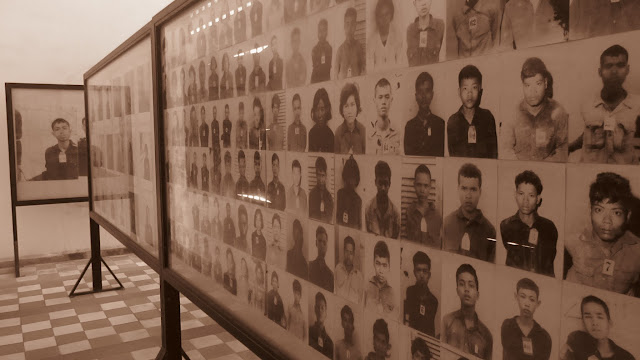 Some of the victims of S-21 and the killing fields.