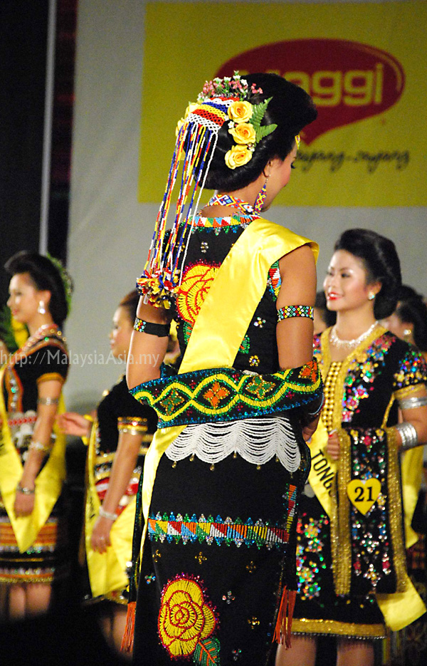 Sabahan Ethnic Costume Dress
