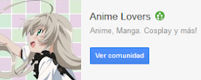 Comunidad en Google+ Anime