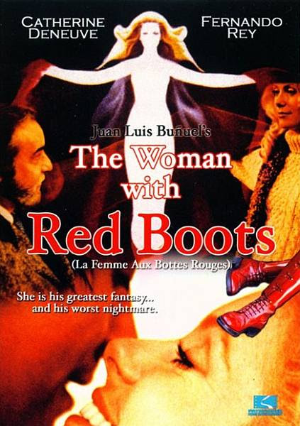 The Lady with Red Boots