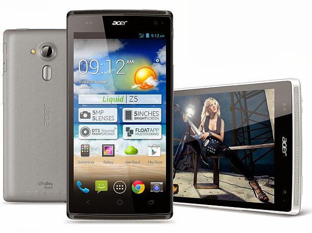 Acer Liquid Z5 - Spesifikasi Lengkap dan Harga