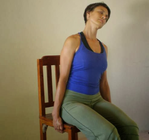 Office Yoga Moves For A Better Posture - Shoulder And Neck Release