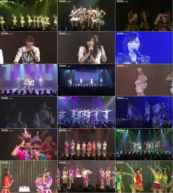 """NMB48 チームN """"ここにだって天使はいる"""" 白間美瑠の生誕祭 131130"""
