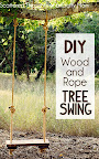 DIY Rustic Tree Swing