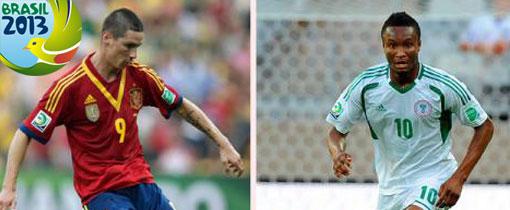 Nigeria vs España en Vivo - Copa Confederaciones 2013