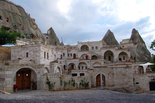 Турция: Город Гереме, архитектура жилых домов