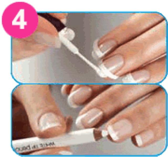 Как сделать френч гель лаком на короткие ногти